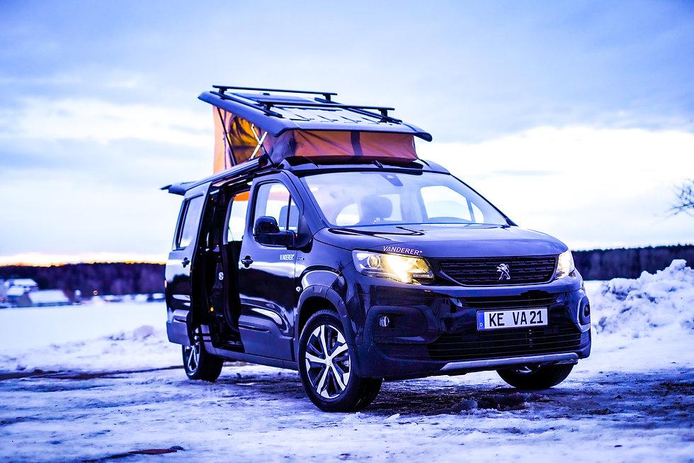 Vanderer Urban Camper Campervan Citroen Berlingo XL