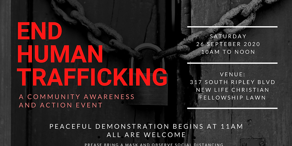 Anti-Human Trafficking Action and Awareness Outdoor Event