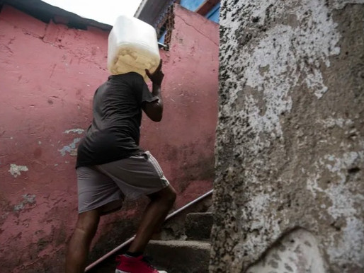 Billions lack drinking water, handwashing facilities and toilets