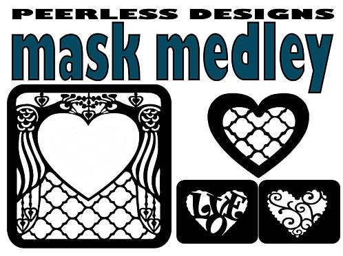 Mask Medley Love Birds