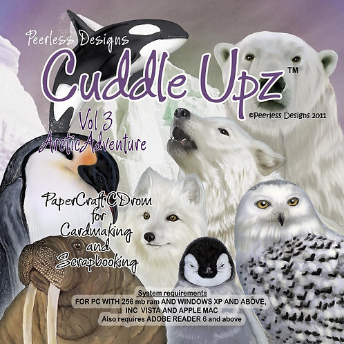 Cuddle Upz Arctic Adventure cd