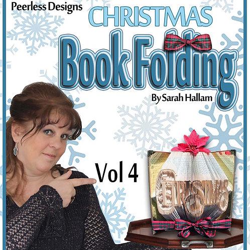 Christmas Book Folding
