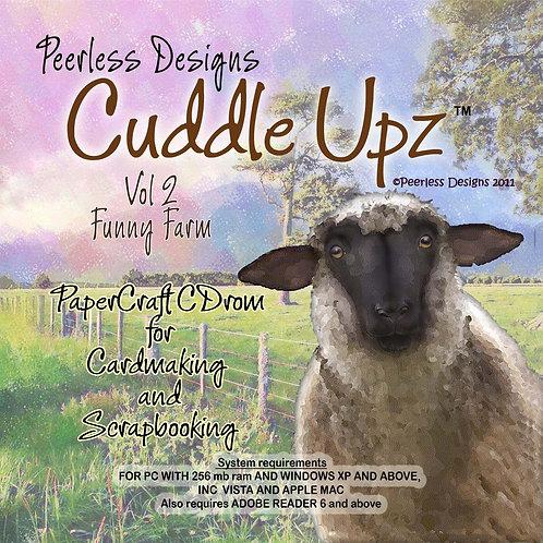 Cuddle Upz Funny Farm