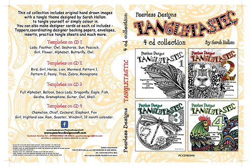 Tangletastic 4 cd Collection