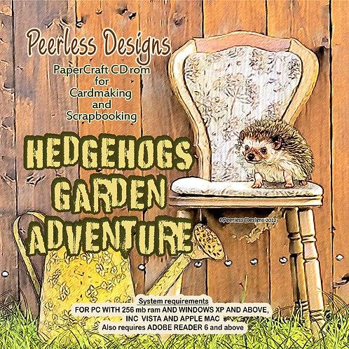 Hedgehogs Garden Adventure cd