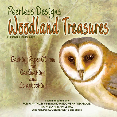 Woodland Treasures cd