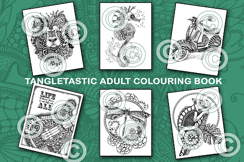 Tangletastic Coloring Pages