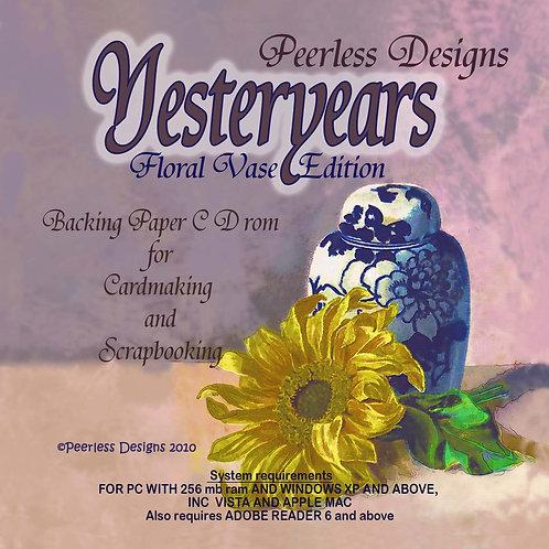 Floral Vase cd