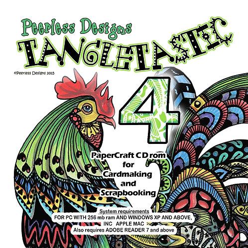 Tangletastic 4 cd