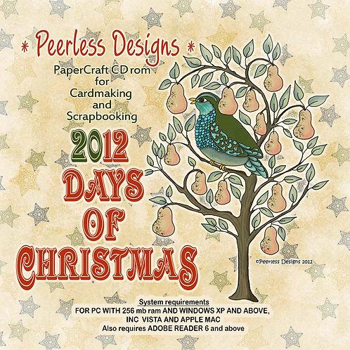 2012 Days of Christmas cd