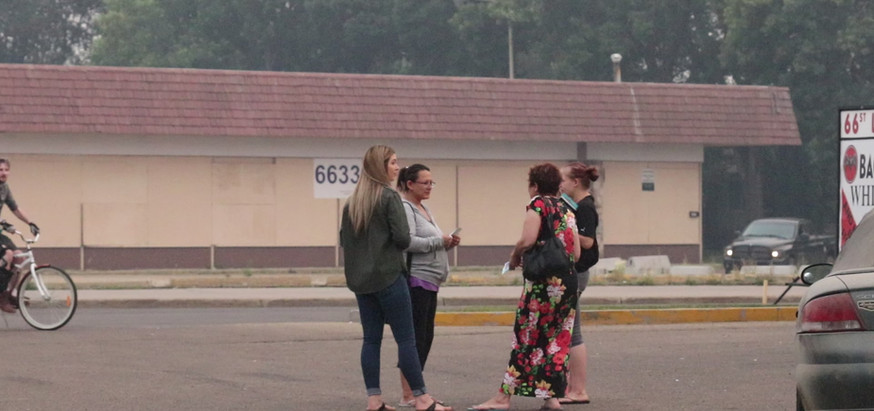 Outreach in the Parking Lot