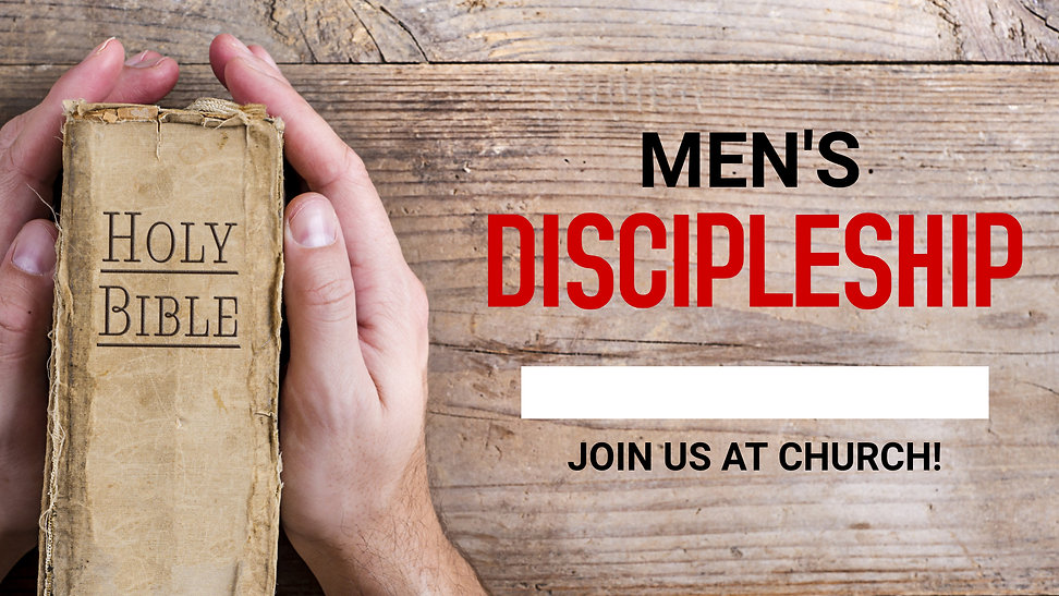 Mens Discipleship - Made with PosterMyWa