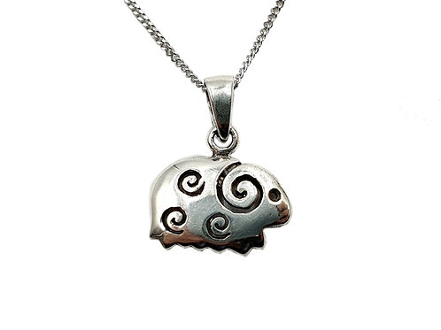 The Little Sheep 925 Sterling Silver Necklace