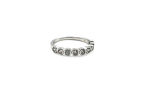 The Band of Sparkles 925 Sterling Silver Ring