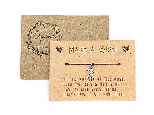 Wish Bracelets, Wish bracelet, Make a Wish bracelets, bracelet, bear, bear bracelet, charity bracelet, wish, party, teddy,