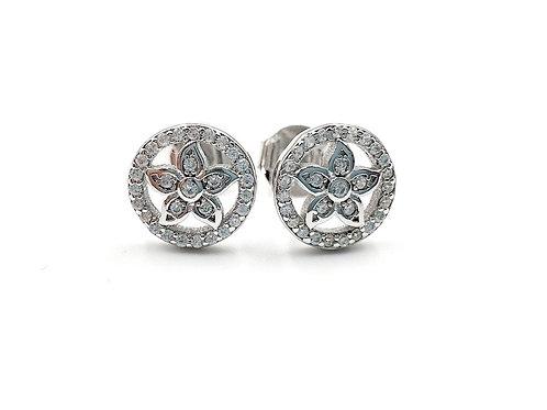 Flower Earrings, Flower, Flower Earrings, Silver Flower Earrings, Silver Flower Studs, Sterling Silver Flower Earrings,