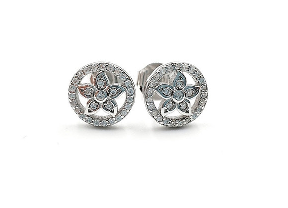 Flower Earrings, Flower, Flower Earrings, Silver Flower Earrings, Silver Flower Studs, Sterling Silver Flower Earrings,