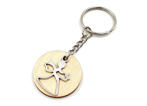 The Guardian Angel Key Ring