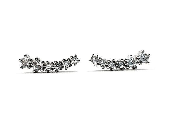 Sterling Silver Earrings, Star, Star Earrings, Silver Star Earrings, Silver Star Studs, Sterling Silver Star Earrings,