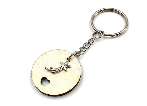 The Shooting Star Key Ring