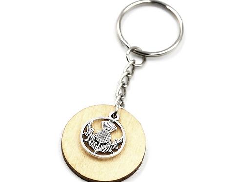 The Scottish Thistle Key Ring