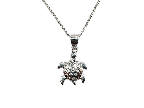The Sea Turtle 925 Sterling Silver Necklace