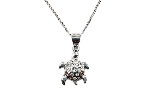 The Turtle 925 Sterling Silver Necklace
