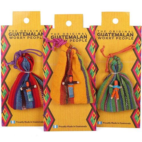 Mini Guatemalan Worry Dolls (6 dolls per pouch)