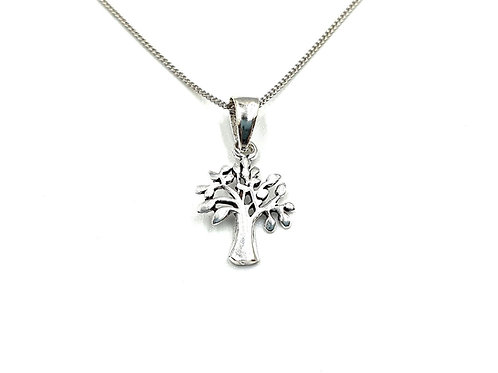 Maple Tree, Maple Tree necklace, Silver Maple Tree Necklace, Sterling Silver Maple Tree necklace, Silver Tree Necklace,