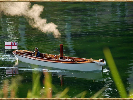 How to build a Model Steam Boat