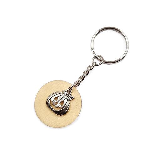 The Pumpkin Key Ring