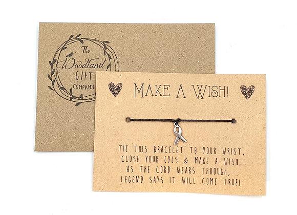 Wish Bracelets, Wish bracelet, Make a Wish bracelets, bracelet, Wedding, charity, wish, party, Cancer, Birthday, Ribbon,