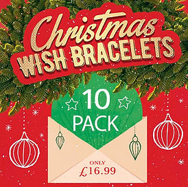 2020 smaller Mixed Christmas Wish Bracel