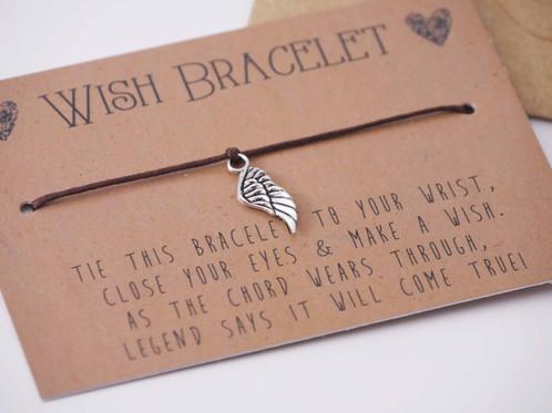 The Angel Wing Wish Bracelet