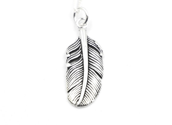 leaf, leaf necklace, silver leaf, silver, silver leaf necklace, sterling silver leaf necklace, leaf necklace, necklace,