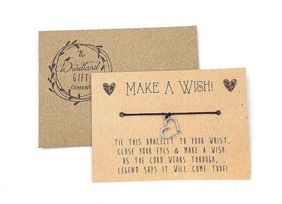 Wish Bracelets, Wish bracelet, Make a Wish bracelets, bracelet, Love, Love Heart Bracelet, charity bracelet, wish, heart