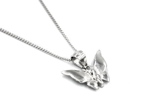 The Silver Butterfly 925 Sterling Silver Necklace