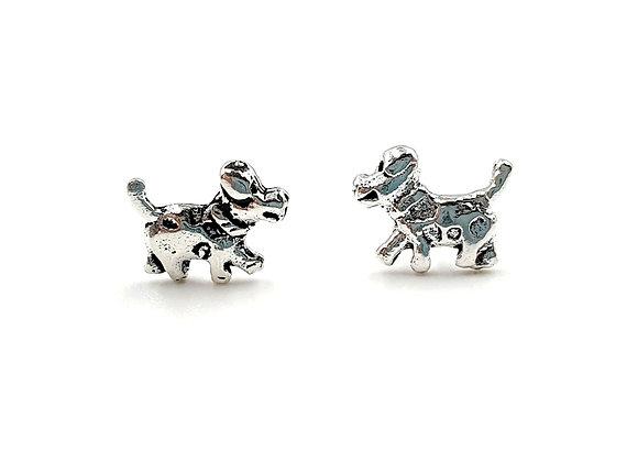 The Little Scottie Dogs 925 Sterling Silver Stud Earrings
