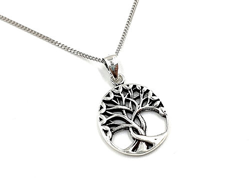 Tree, of, life, Tree of life necklace, Silver tree of life Necklace, Sterling Silver tree of life necklace, Tree Necklace