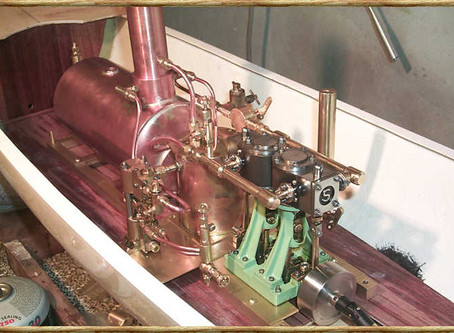Tips on running Stuart Turner Engines in a Model Steam Boat