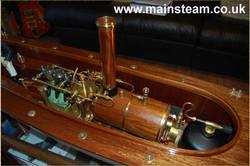 A Stuart Double 10V Steam Launch