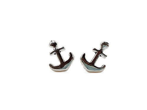 The Captain's Anchor 925 Sterling Silver Studs