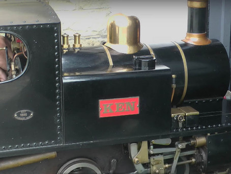 Modifications to the Design of a Miniature Steam Locomotive