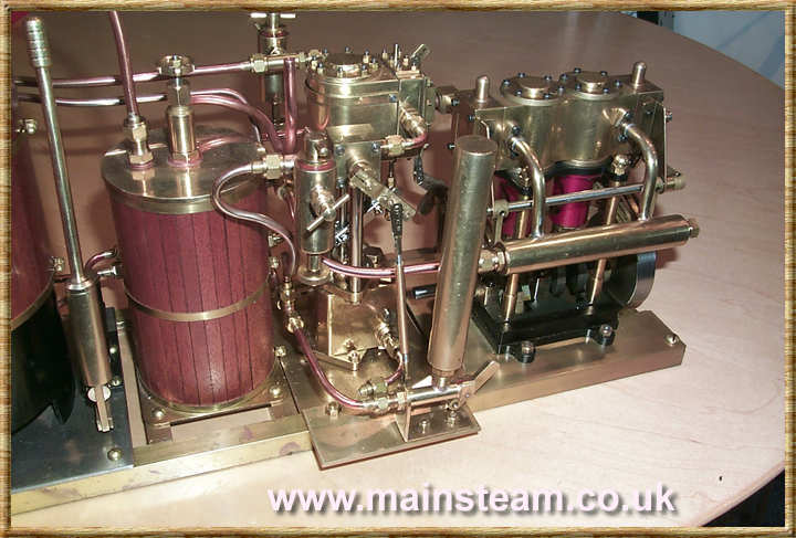 Condenser, Steam Pump & Steam Engine
