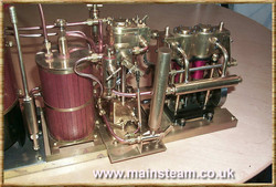 Condenser, Steam Pump & Steam Engine