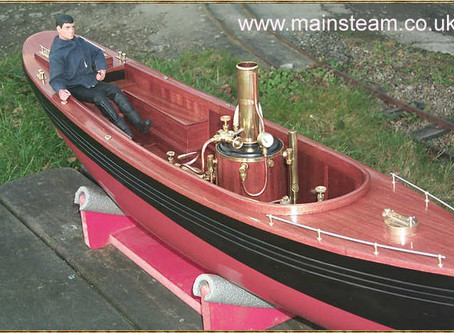 Buying Model Steam Boats - Which Type?