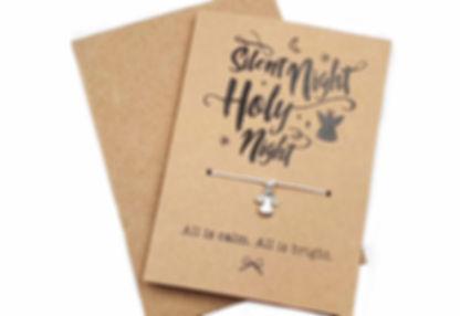 ANGEL FLAT LAY CHRISTMAS CARD WOODLAND G
