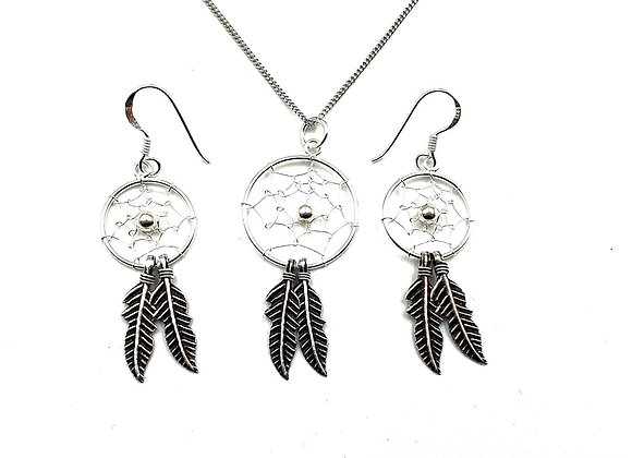 The Dream Catcher Gift Set 925 Sterling Silver