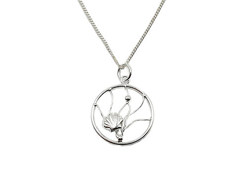 The Mermaid Shell 925 Sterling Silver Necklace