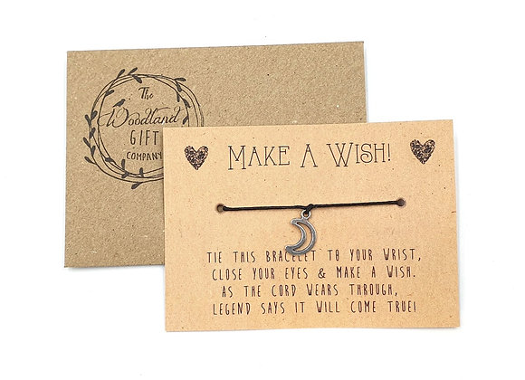 Wish Bracelets, Wish bracelet, Make a Wish bracelets, bracelet, Wedding bracelet, charity, wish, party, Moon, Birthday,